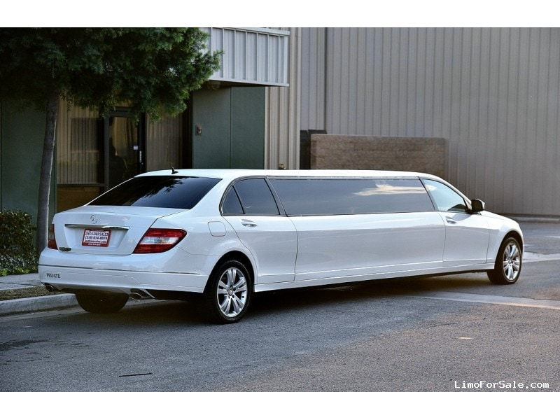 Used 2008 mercedes benz c class sedan stretch limo for 2008 mercedes benz c class c300 for sale