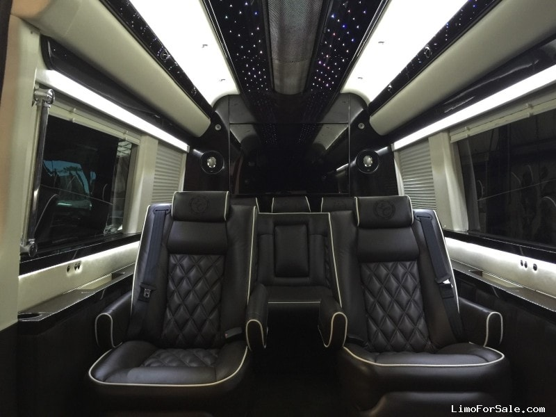 Used 2015 mercedes benz sprinter van shuttle tour for Mercedes benz in las vegas