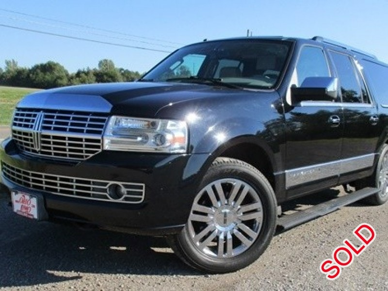 used 2008 lincoln navigator l suv limo bellefontaine ohio 14 800 limo for sale. Black Bedroom Furniture Sets. Home Design Ideas