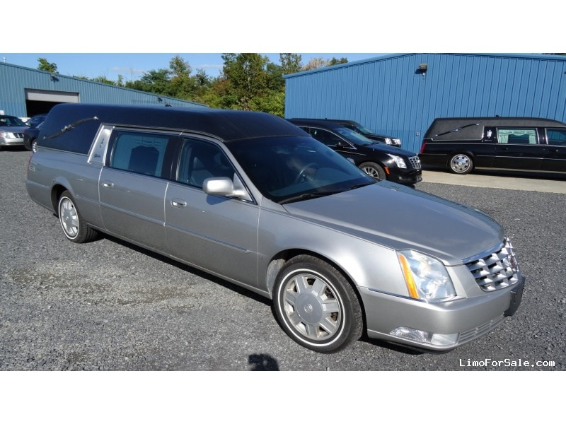 Used 2007 Cadillac DTS Funeral Hearse Superior Coaches ...