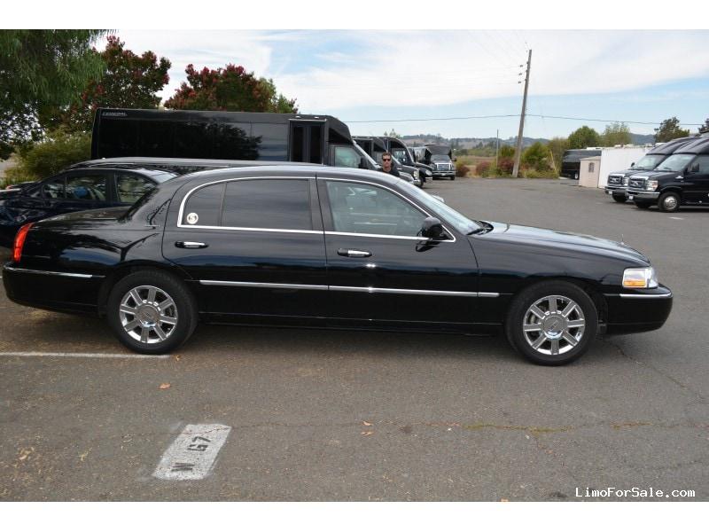 Used 2010 Lincoln Town Car L Sedan Limo Napa California 6 500