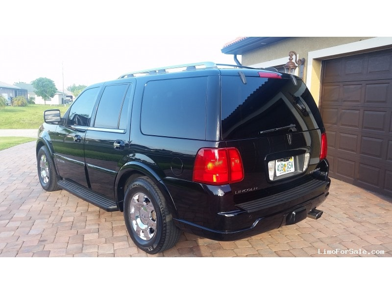 used 2005 lincoln navigator suv limo fort myers florida. Black Bedroom Furniture Sets. Home Design Ideas