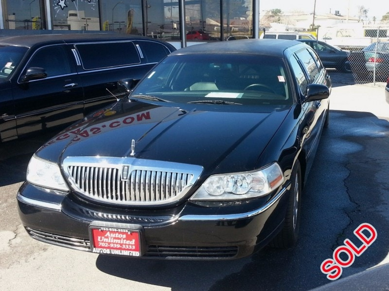 Used 2006 Lincoln Town Car Sedan Stretch Limo Coastal Coachworks - Las Vegas, Nevada - $5,595