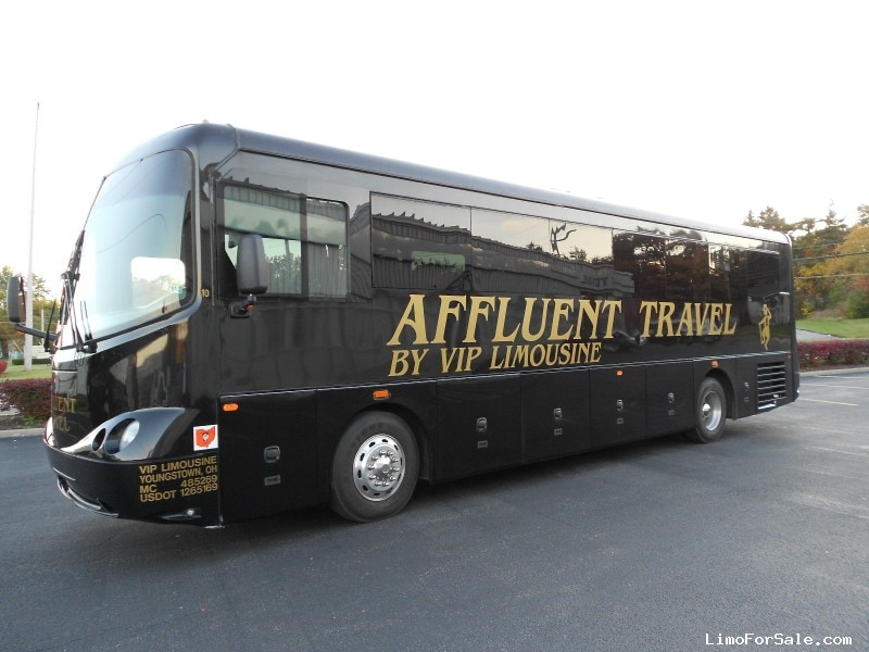 Used 2008 Glaval Bus Synergy Motorcoach Limo Glaval Bus - canfield, Ohio - $59,000