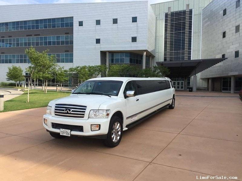 Used 2006 Infiniti QX56 SUV Stretch Limo Galaxy Coachworks - Lancaster, Texas - $31,000