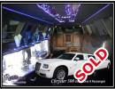 Used 2008 Chrysler 300 Sedan Stretch Limo Empire Coach - pontiac, Michigan - $12,800.00