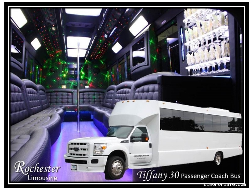 Used 2014 Ford E-450 Mini Bus Limo Tiffany Coachworks - Rochester Hills, Michigan - $68,985