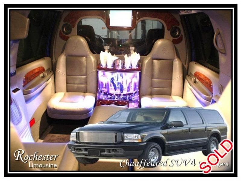 Used 2008 Ford Excursion SUV Limo Empire Coach - Rochester Hills, Michigan - $9,875