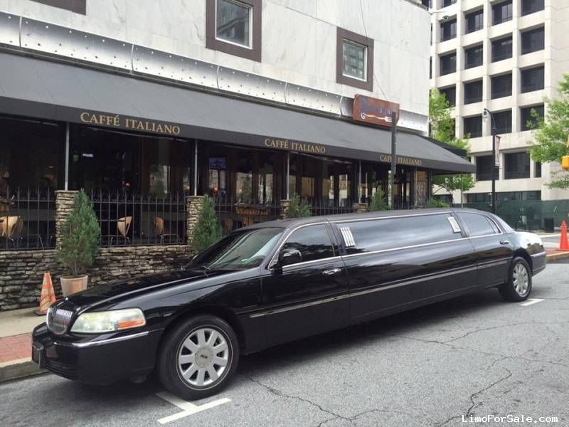 Used 2005 Lincoln Town Car Sedan Stretch Limo Krystal - Atlanta, Georgia - $13,000