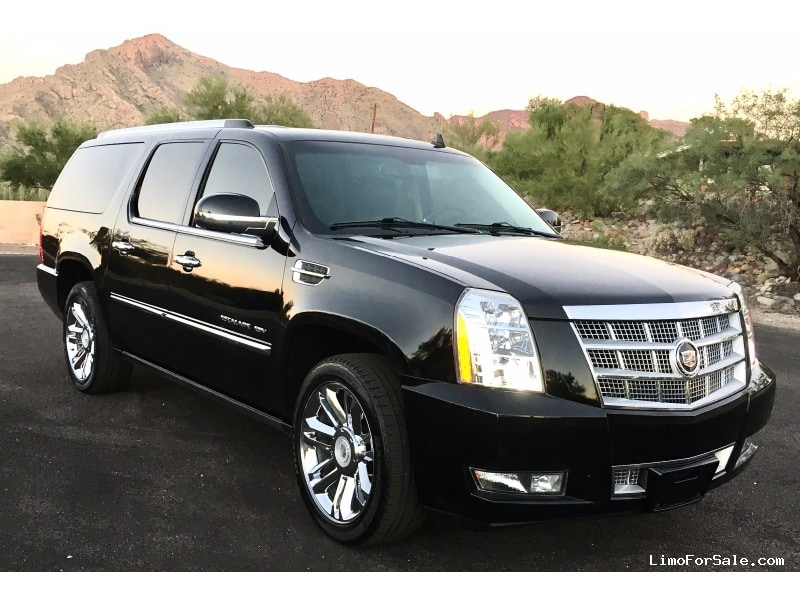 used 2008 cadillac escalade esv suv limo tucson arizona 23 500 limo for sale. Black Bedroom Furniture Sets. Home Design Ideas