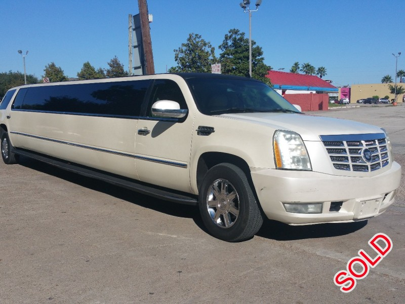 Used 2007 Cadillac Escalade SUV Stretch Limo Limos by Moonlight - Cypress, Texas - $22,500
