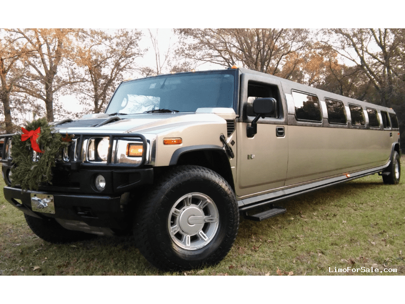 Used 2003 Hummer H2 SUV Stretch Limo Craftsmen - crestview, Florida - $33,900