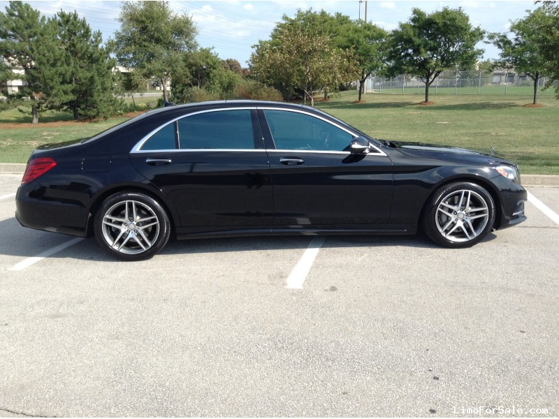used 2015 mercedes benz s550 sedan limo mississauga ontario 64 000 limo for sale. Black Bedroom Furniture Sets. Home Design Ideas