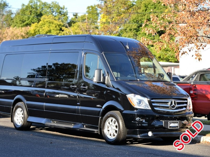 New 2016 Mercedes-Benz Sprinter Van Limo Midwest Automotive Designs - Oaklyn, New Jersey    - $124,997
