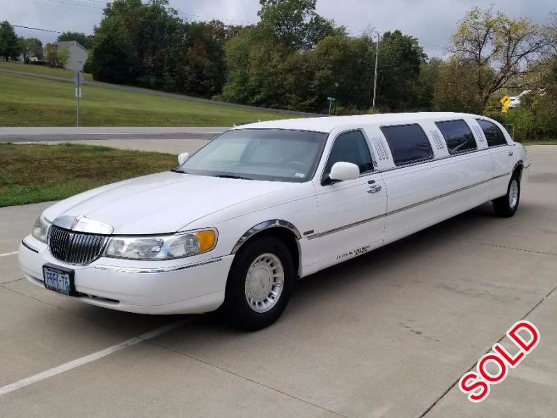 Used 2001 Lincoln Town Car Sedan Stretch Limo Springfield Wentzville Missouri 4 500