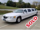 2001, Lincoln Town Car, Sedan Stretch Limo, Springfield