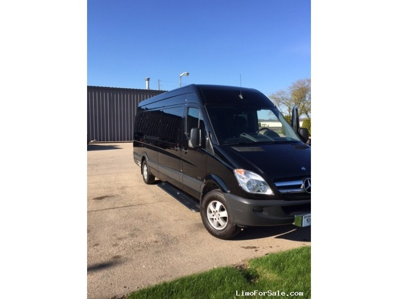 used 2013 mercedes benz sprinter van shuttle tour. Black Bedroom Furniture Sets. Home Design Ideas