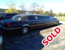 2009, Lincoln Town Car, Sedan Stretch Limo, Krystal