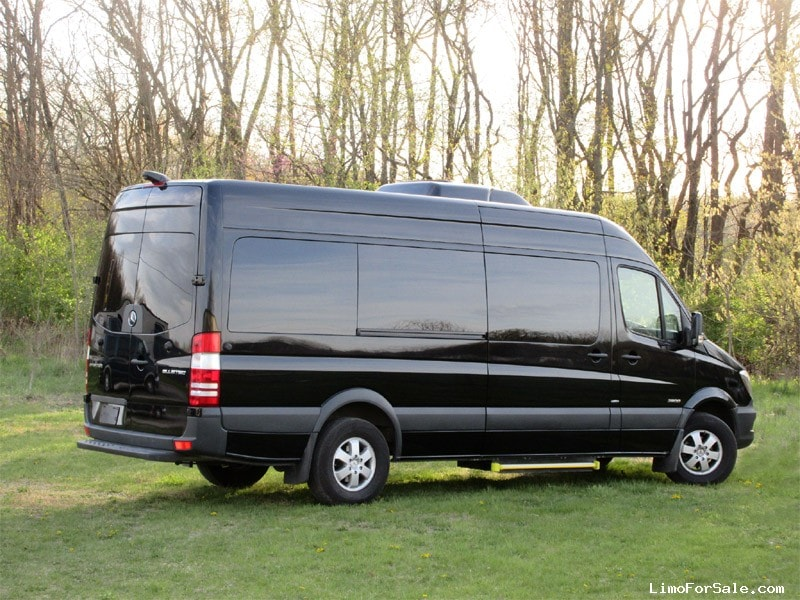 used 2016 mercedes benz sprinter van limo picasso elkhart indiana 84 995 limo for sale. Black Bedroom Furniture Sets. Home Design Ideas