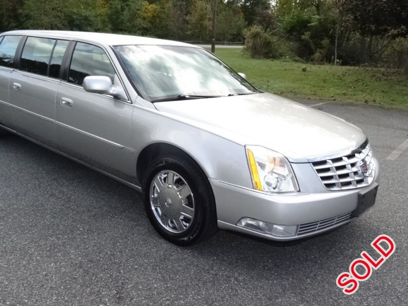 Used 2006 Cadillac Dts Funeral Limo Plymouth Meeting Pennsylvania