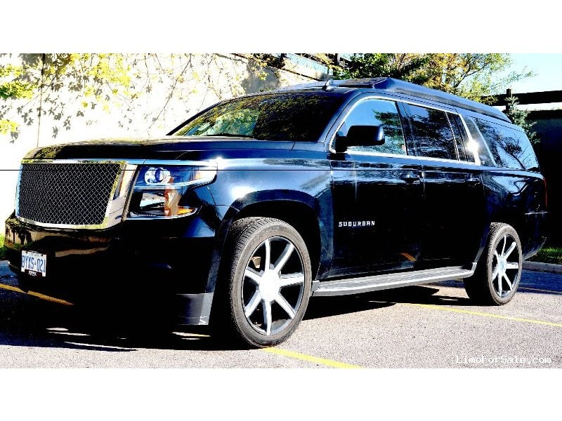 Used 2016 Chevrolet Suburban SUV Limo  - North York, Ontario - $72,999