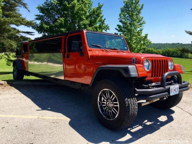 Used 1997 Jeep Wrangler SUV Stretch Limo Springfield - Blue Springs,  Missouri - $70,000