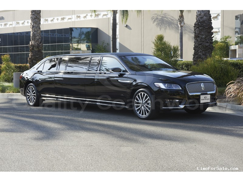 New 2017 Lincoln Continental Sedan Stretch Limo Quality Coachworks
