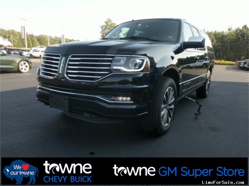Used 2016 Lincoln Navigator L SUV Limo  - orchard park, New York    - $29,995