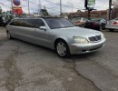 2001, Mercedes-Benz S Class, Sedan Stretch Limo
