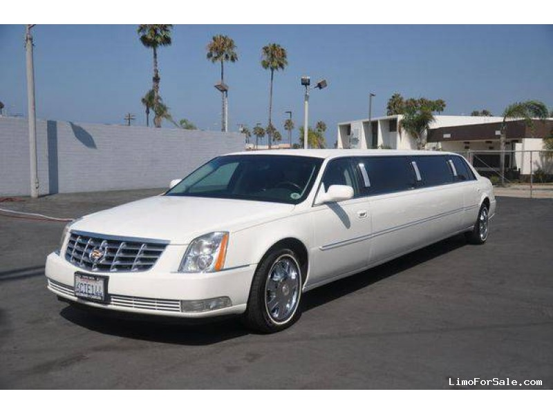 Used 2008 Cadillac DTS Sedan Stretch Limo Royale - Oceanside, California - $22,500