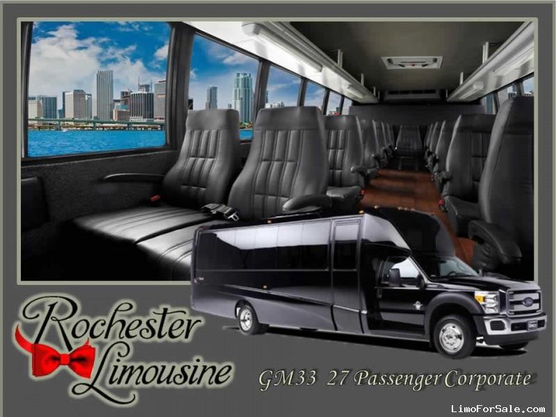 Used 2015 Ford F-550 Motorcoach Shuttle / Tour Grech Motors - pontiac, Michigan