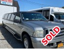 2005, Ford Excursion, SUV Stretch Limo, Executive Coach Builders