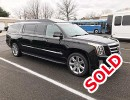 Used 2017 Cadillac Escalade ESV SUV Stretch Limo Quality Coachworks - Oaklyn, New Jersey    - $89,950