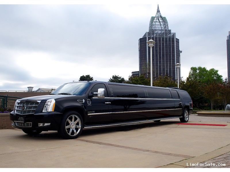 Used 2014 Cadillac Escalade SUV Stretch Limo Executive Coach Builders - Theodore, Alabama - $55,000