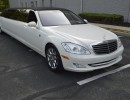 2008, Mercedes-Benz S550, Sedan Stretch Limo, Lime Lite Coach Works