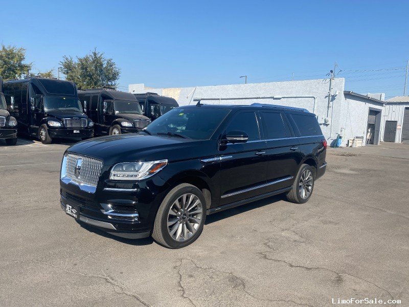 Used 2018 Lincoln Navigator L SUV Limo  - Phoenix, Arizona  - $57,000