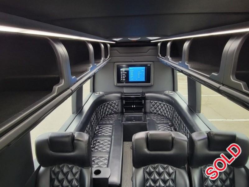 Used 2017 Mercedes-Benz Sprinter Van Limo McSweeney Designs - Springfield, Missouri - $84,995