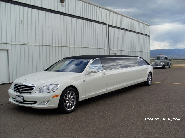 used 2008 mercedes benz s550 sedan stretch limo lime lite