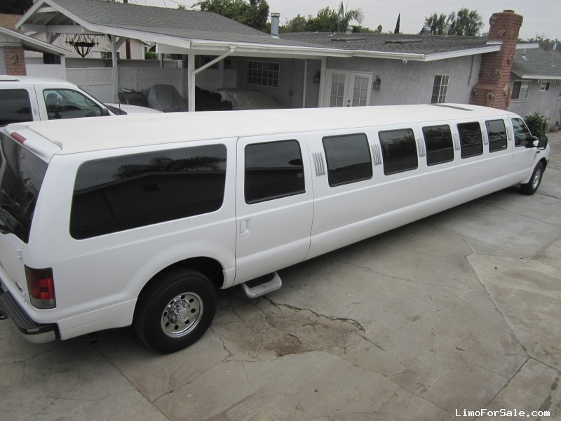 used 2001 ford excursion suv stretch limo ultra baldwin park california 18 500 limo for sale. Black Bedroom Furniture Sets. Home Design Ideas