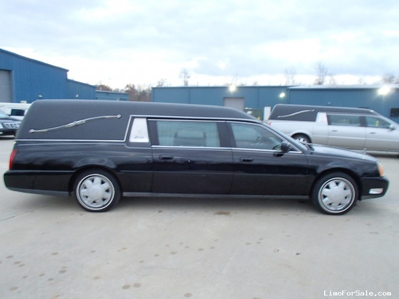 Used 2002 Cadillac De Ville Funeral Hearse Accubuilt