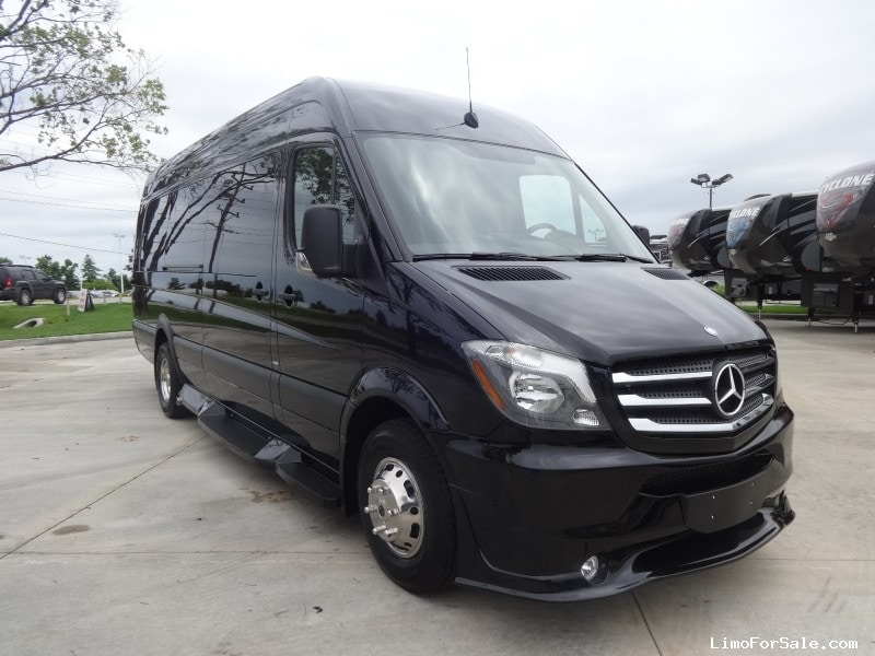 2016 Mercedes Sprinter >> New 2016 Mercedes Benz Sprinter Van Limo Midwest Automotive Designs O Fallon Missouri 129 900