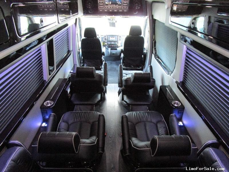 New 2016 Mercedes Benz Sprinter Van Limo Midwest