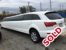 Used 2012 Audi Q7 SUV Stretch Limo Pinnacle Limousine Manufacturing - Colonia, New Jersey    - $59,000