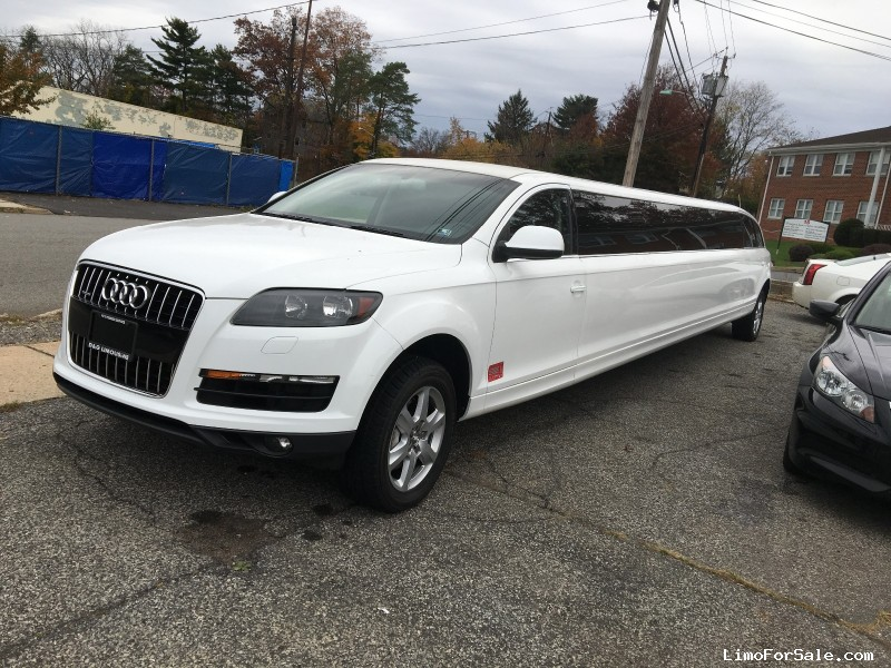 Used 2017 Audi Q7 Suv Stretch Limo Pinnacle Limousine Manufacturing Colonia New Jersey 59 000