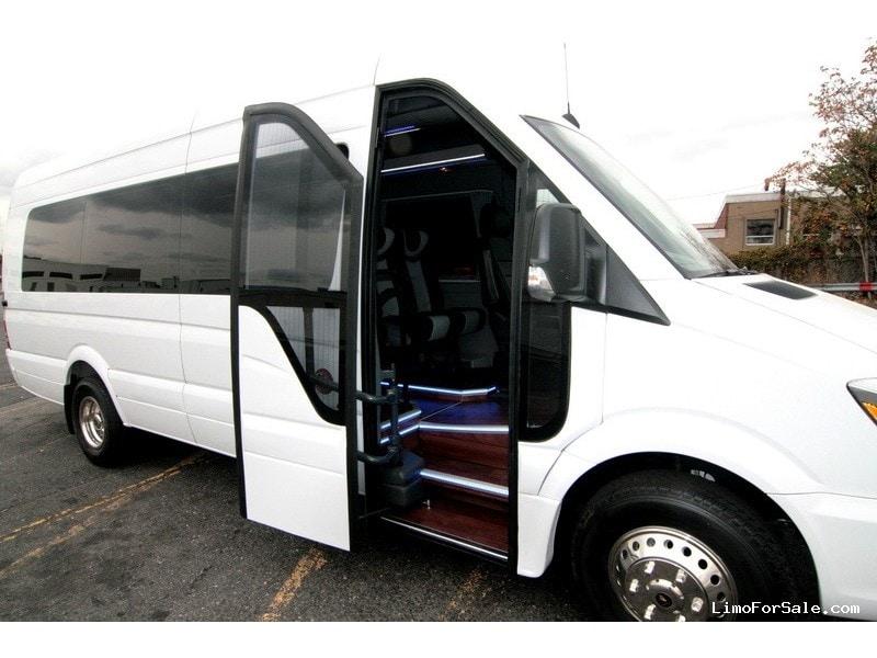 New 2014 mercedes benz sprinter van shuttle tour hq for Custom mercedes benz sprinter for sale