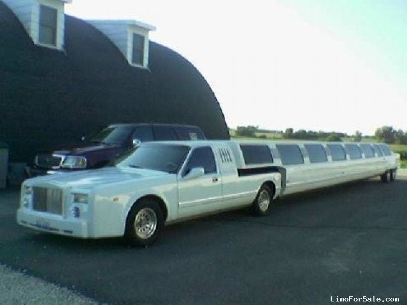 Used 1996 Lincoln Town Car Sedan Stretch Limo Ultra California