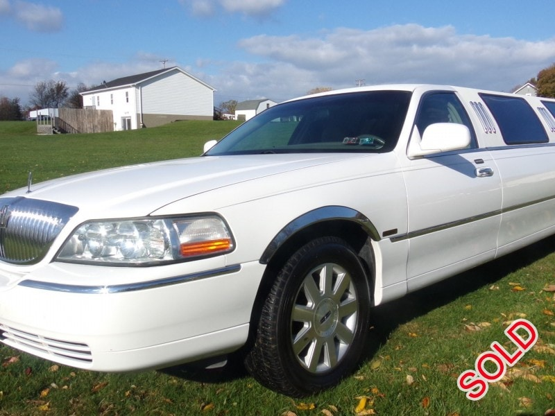 Used 2003 Lincoln Town Car L Sedan Stretch Limo Springfield - North ...
