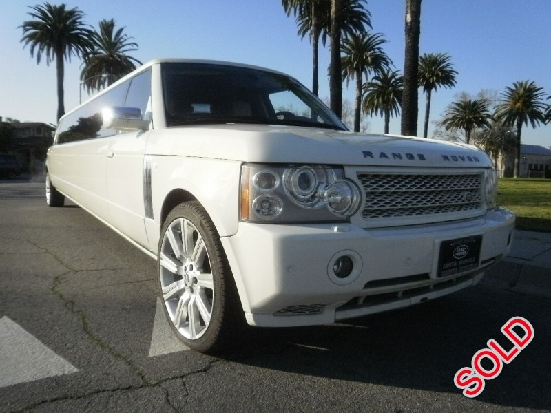 used 2007 land rover range rover suv stretch limo american limousine sales los angeles. Black Bedroom Furniture Sets. Home Design Ideas