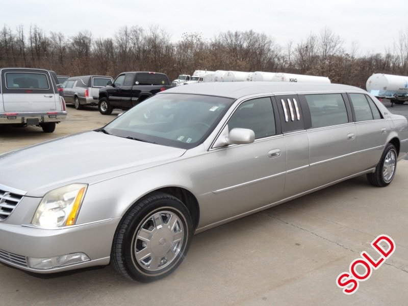 Used 2007 Cadillac DTS Sedan Stretch Limo Superior Coaches - Plymouth Meeting, Pennsylvania - $24,500