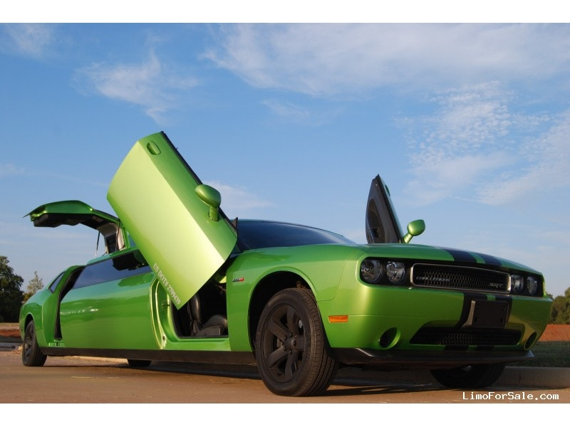 Used 2011 dodge challenger sedan stretch limo quality coachworks norman oklahoma 59 000